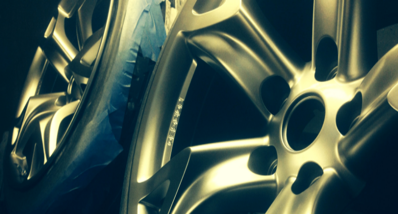 Custom Refinished Nissan 350Z Wheels