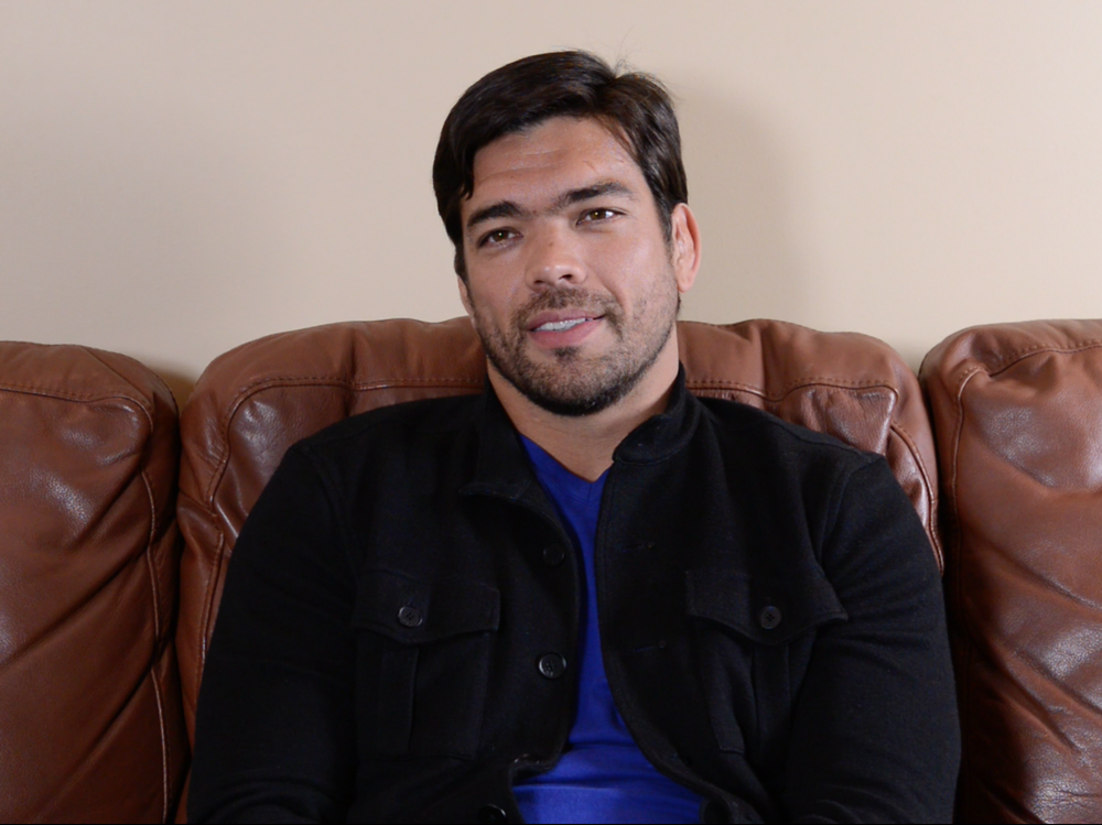 "Lyoto Machida - Behind the Scenes Interview for ""Tapped"" 2014"