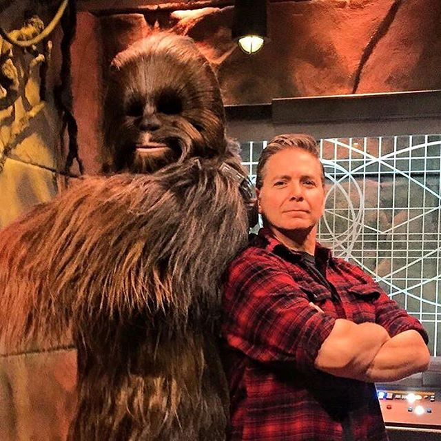 May the Fourth be with you! #starwars #maythefourthbewithyou #maytheforcebewithyou #wookie #chewbacca #disney #goodtimes