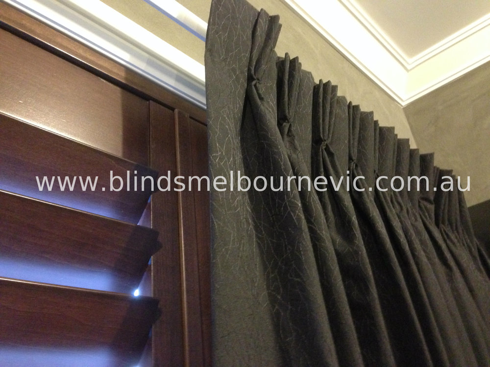 Plantation Shutters & Curtain