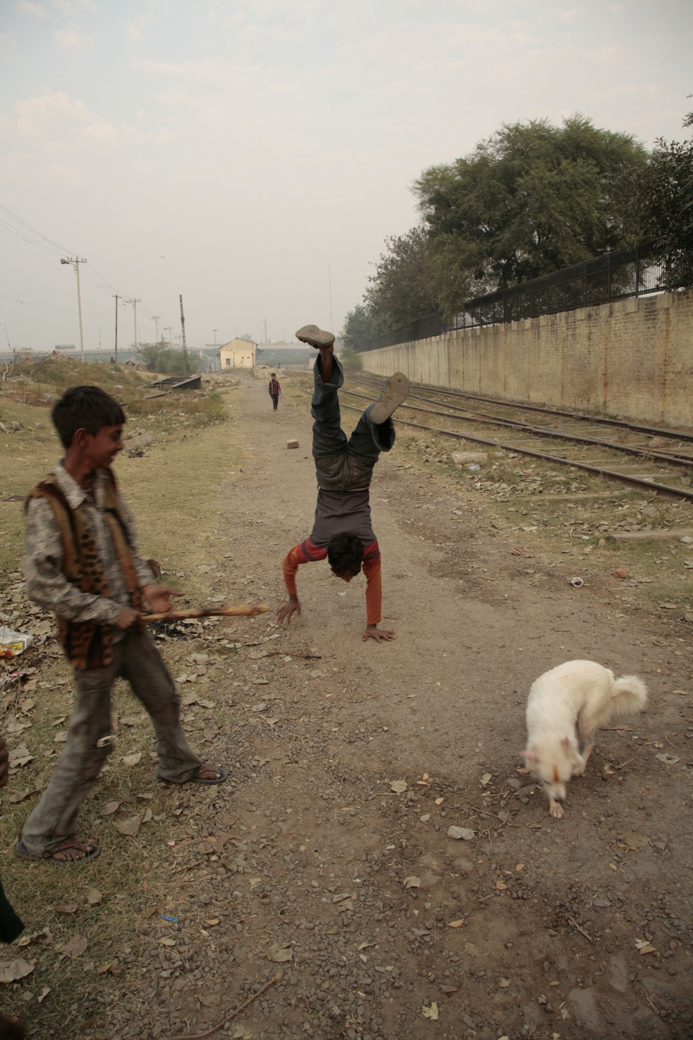 Delhi Railway Station, India - Photo courtesy of Dylan O'Donnell