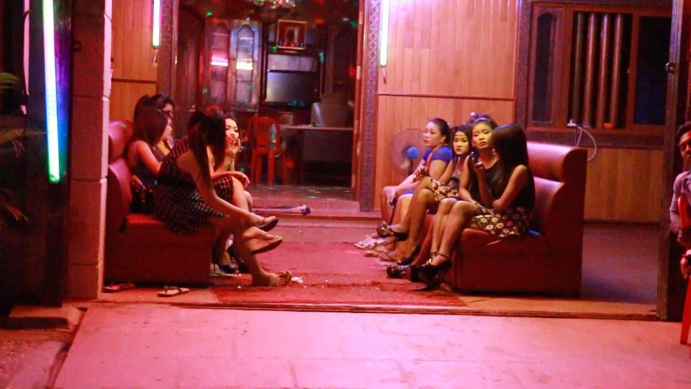 Sex workers at Karaoke Bar  - Phnom Penh