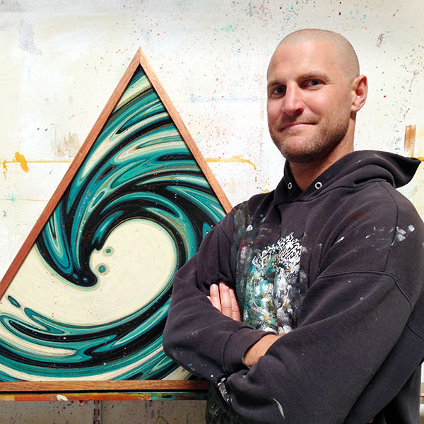 Erik Abel     Artist, Surfer, Co-founder of the Abel Arts Collective living in Ventura, CA.   abelarts.com