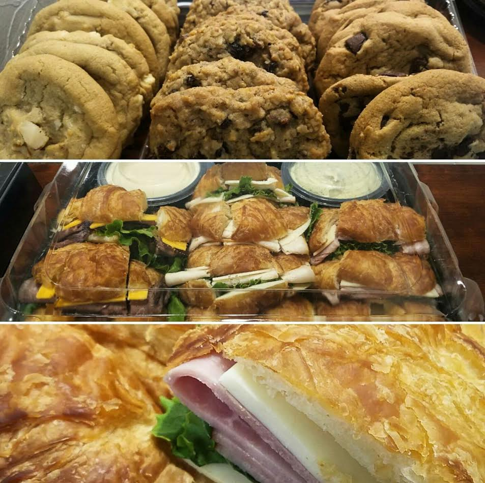 Yummy Treats!! - We were treated to a delicious lunch Thursday! Thanks to the Ferris family for being so thoughtful!!