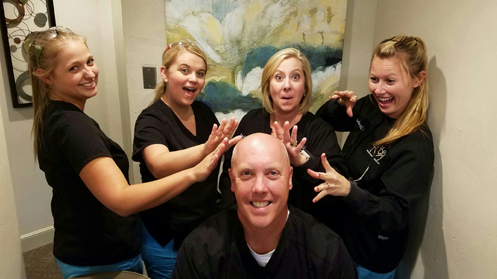 No Hair, Don't Care!! - Happy National Bald Is Beautiful Day, Dr Mullen!!