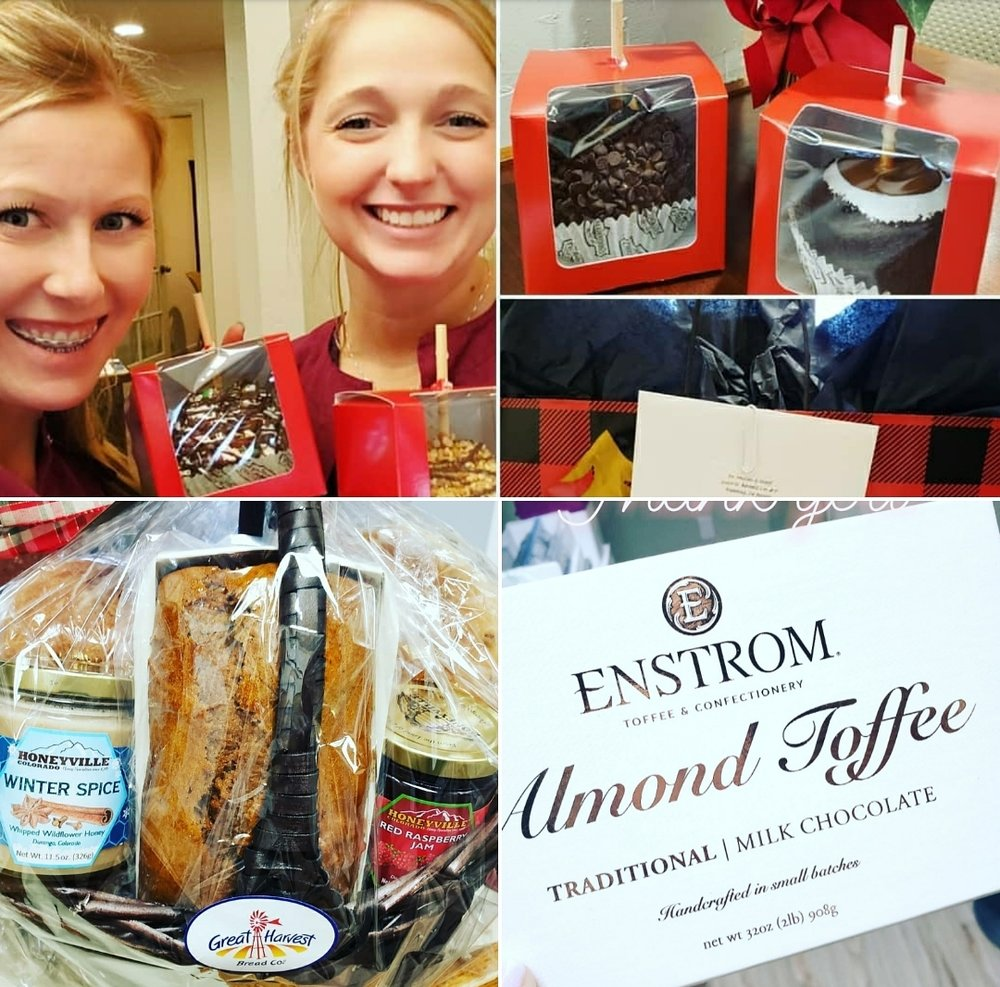 Happy Holidays! - It's the holiday season. You know what that means? Treats! We love sending and receiving treats from all our friends and patients in the dental community!!!