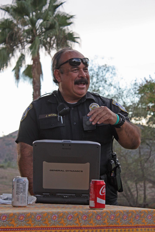 Officer Mougier