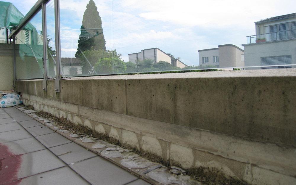 Balkon abdichten flexobau heimberg ag - Risse in fliesen ...