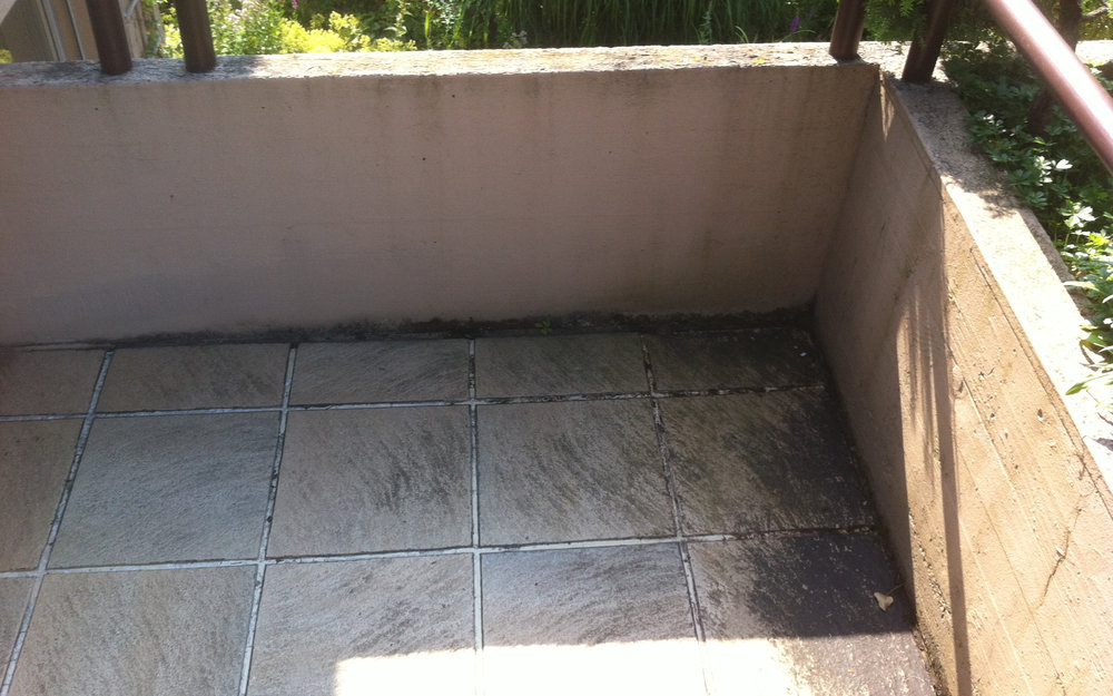 Terrassensanierung