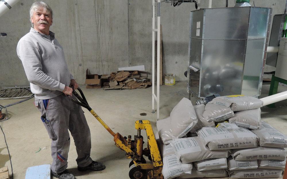 Industrieboden mit Flüssigkunststoff