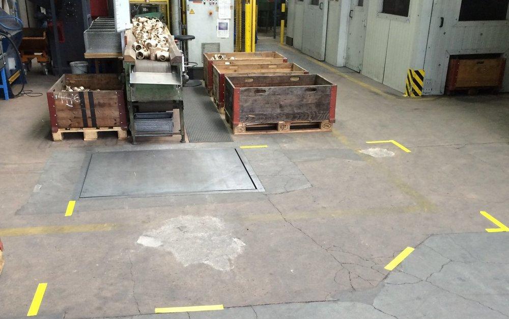 Indutsriebodensanierung Beton