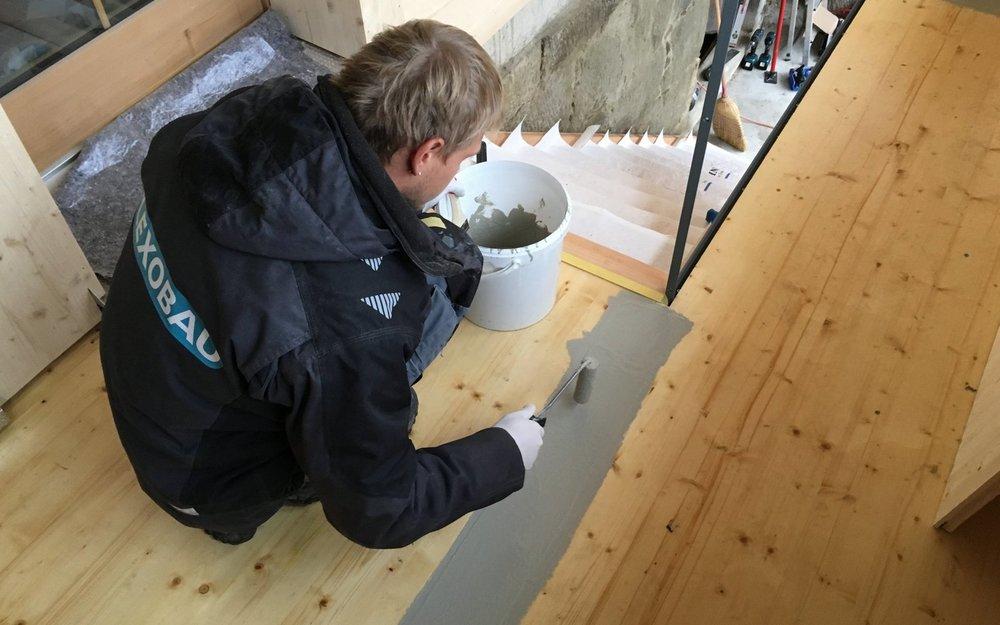 Beschichtung Holzboden im Aussenbereich