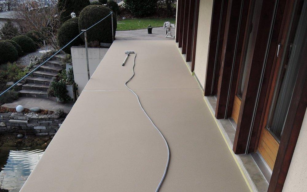 Bodenbeschichtung / Terrassenbeschichtung
