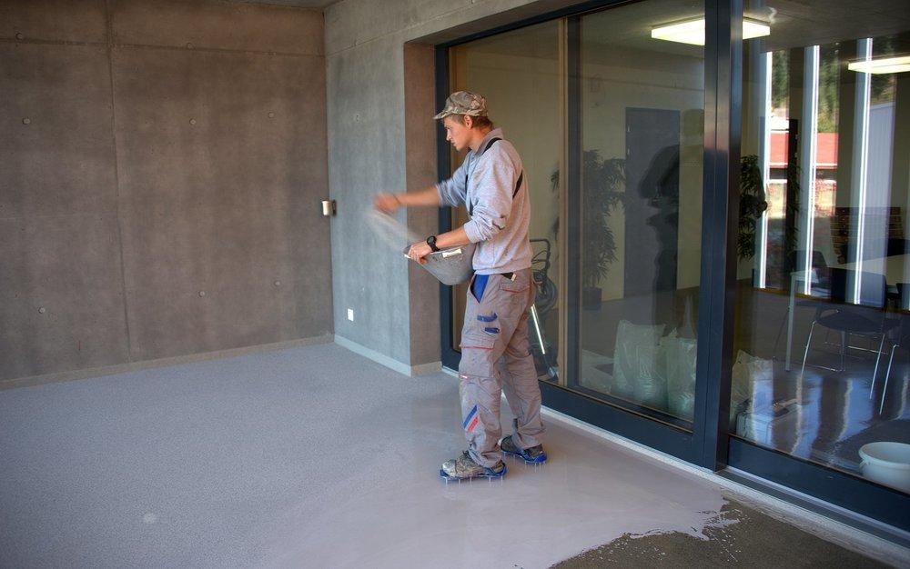Balkon- und Terrassen-Beschichtungssystem