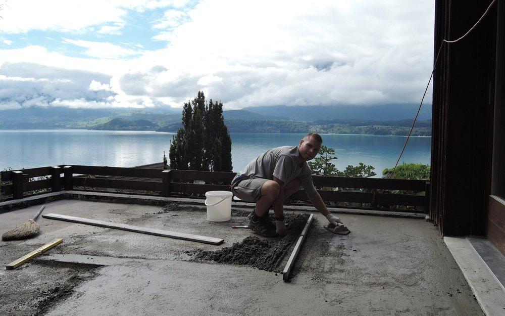Terrasse sanieren und abdichten