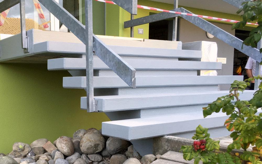 Treppensanierung Aussen