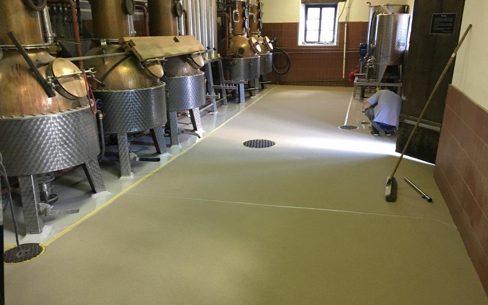 Industrieboden Lebensmittelindustrie
