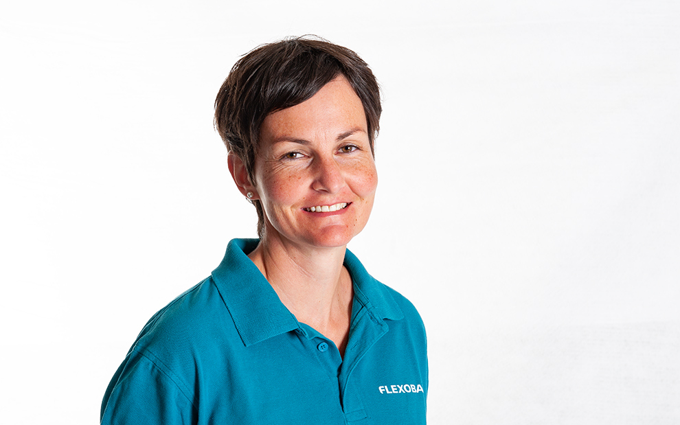 Erika Büschlen Geschäftsleitung / Marketing e.bueschlen@flexobau.ch