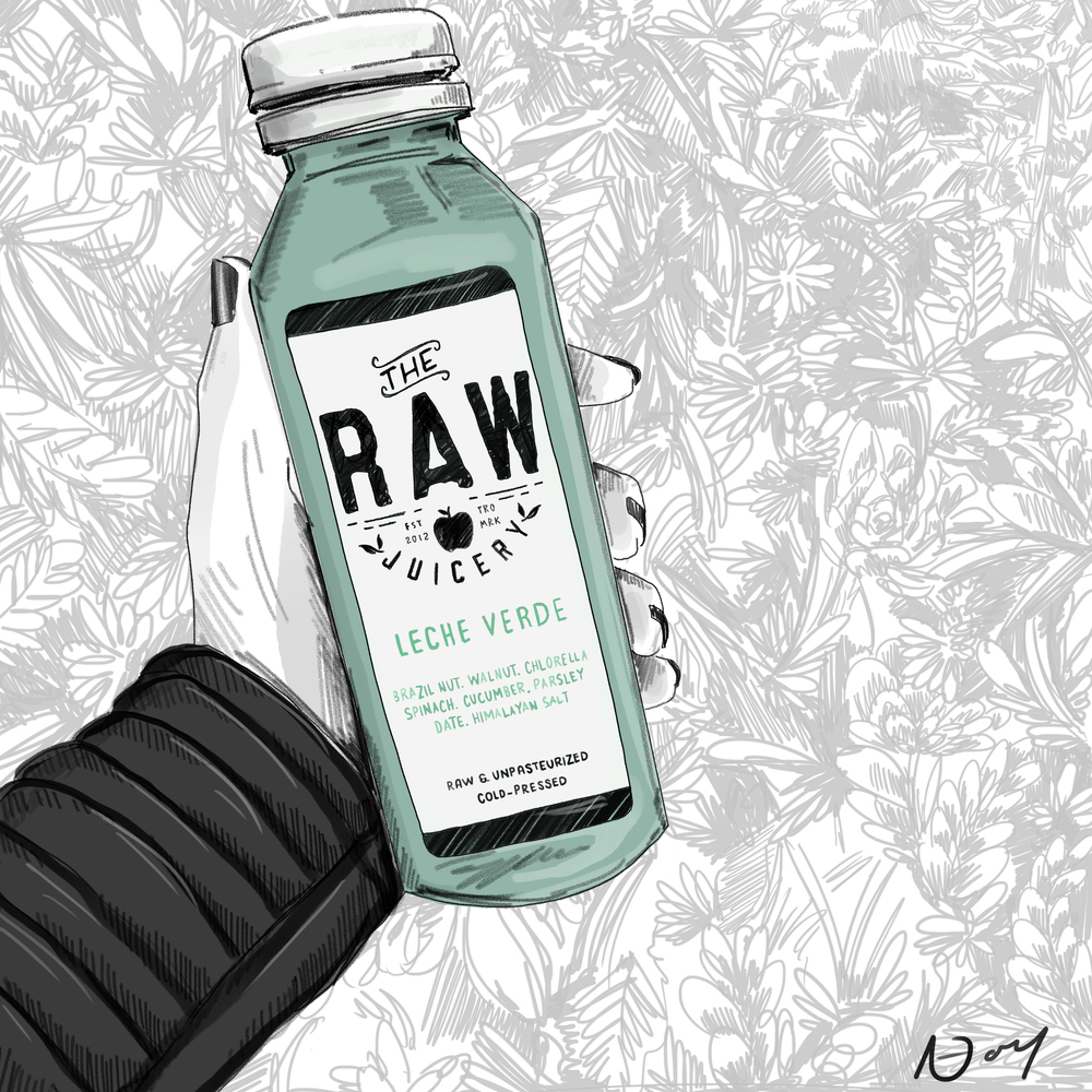 RAW JUICERY, Promo Image