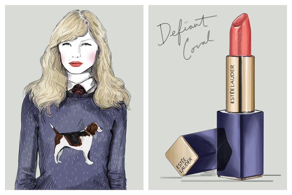 Lipstick Theory, ESTEE LAUDER