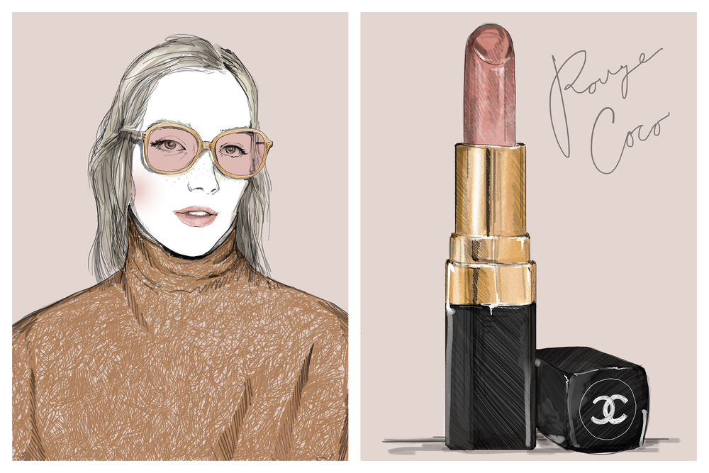 Lipstick Theory, Chanel