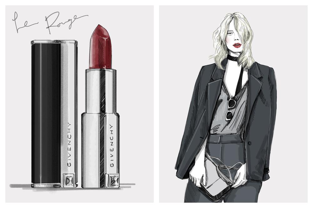 Lipstick Theory, GIVENCHY
