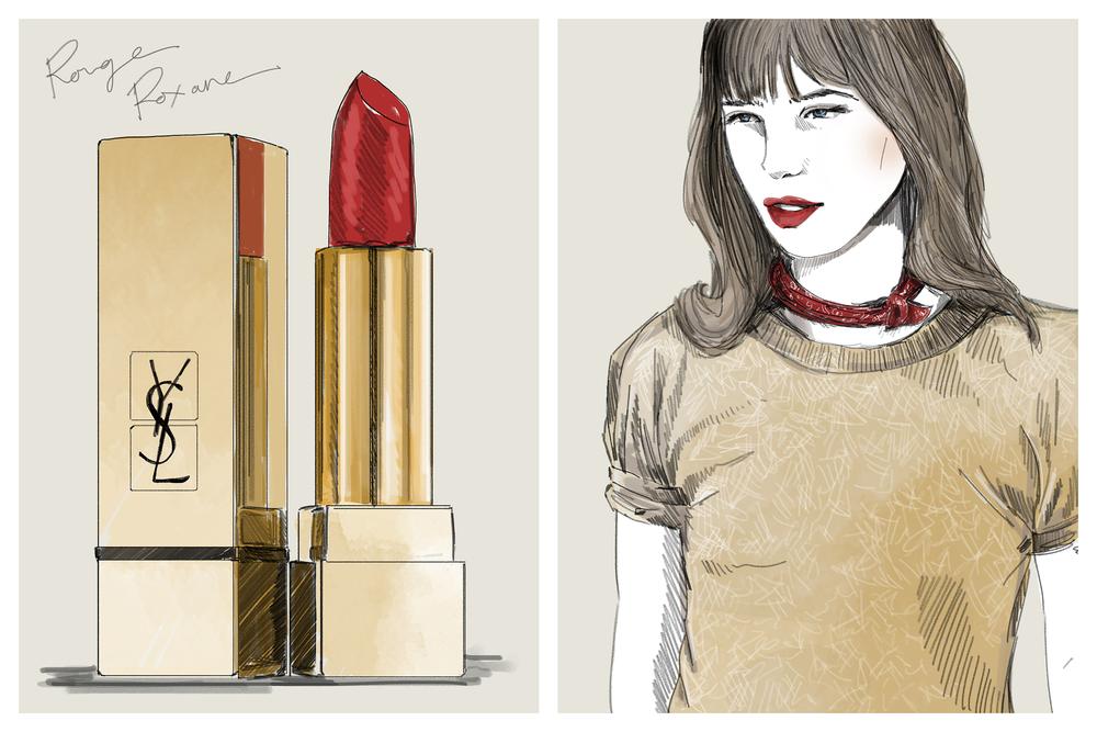 Lipstick Theory, YSL
