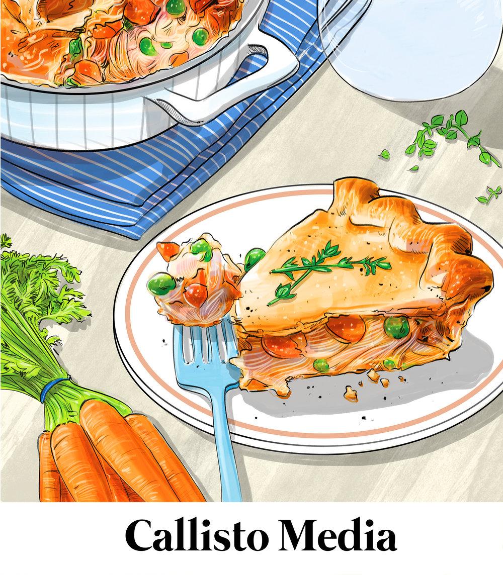 Amber Day, Callisto Media