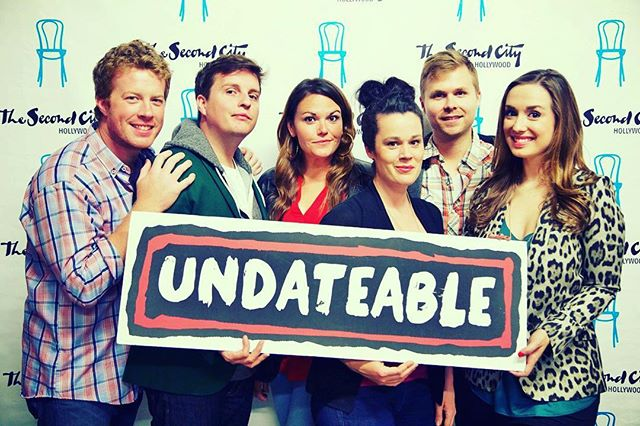 "After running for 3 1/2 years, tonight we say goodbye to UNDATEABLE at Second City Hollywood after the last performance. Join us as we say goodbye!  TONIGHT Undateable 9:30 PM @secondcityhollywood  A few tickets remaining. Get them NOW before we sell out! http://tinyurl.com/zacjp2h . . . . .  Celebrating a 3 1/2 year run! 38 ""Undateable"" profiles were placed on OKCupid. The show = months of research of REAL people talking to FAKE characters. A scientific experiment about the online search for love. It's unlike anything you've ever seen before! ❤️ SecondCity.Com 323.464.8542 ❤️ Cast: Brooke Trantor, Rachel LaForce, Sky King, Kyle McGrath Patrick Quinlan, and Carolyn Marie Wright ❤️ •""Emphasis on heart sets Second City apart"" ~ LA Weekly •""Imaginatively directed by Frank Caeti."" ~ Arts in LA •""Relevant to all sexy singletons"" ~ Carrie Blogshaw •""An opus unlike anything you've seen before."" ~ Patch.com •""Insanely intelligent concept"" - Neon Tommy •""A must see!"" - Joe's Daily . . . . .  Tonight UNDATEABLE is: Brooke Trantor, Rachel LaForce, Sky King, Kyle McGrath, Patrick Quinlan, and Carolyn Marie Wright On the keys: Tim Lillis Technical Genius: Johnny Archer Written by: Robyn Lynne Norris & Bob Ladewig Directed by: Frank Caeti Assistant Director: Brooke Trantor Music: Dan Wessels Additional Material: Amanda Blake Davis & Frank Caeti . . . . . . . . .  #UNDATEABLE #secondcity #secondcityhollywood #secondcityla #okc #okcupid #onlinedating #dating #truelove #tgif #hollywood #losangeles #comedy #livetheatre #lathtr #improv #fridaynightout #datenight #brosnight #ladiesnight #goldstar #entertainment #secondcityfamily"