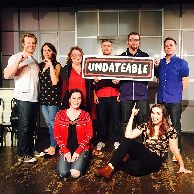 😍😍😍 . . . . . . . #UNDATEABLE #secondcity #secondcityhollywood #secondcityla #okc #okcupid #onlinedating #dating #truelove #tgif #hollywood #losangeles #comedy #livetheatre #lathtr #improv #fridaynightout #datenight #brosnight #ladiesnight #goldstar #entertainment #secondcityfamily