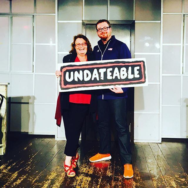 Thanks to our volunteers Friday, and the past 3 1/2 years! The show couldn't go on without you. Thanks! . . . . . . . . . #UNDATEABLE #secondcity #secondcityhollywood #secondcityla #okc #okcupid #onlinedating #dating #truelove #tgif #hollywood #losangeles #comedy #livetheatre #lathtr #improv #fridaynightout #datenight #brosnight #ladiesnight #goldstar #entertainment #secondcityfamily
