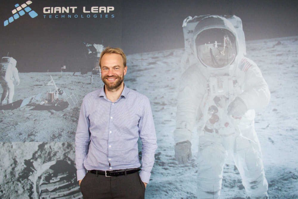 Audun Mathisen, leder for teknologi og operasjon hos Giant Leap Technologies AS