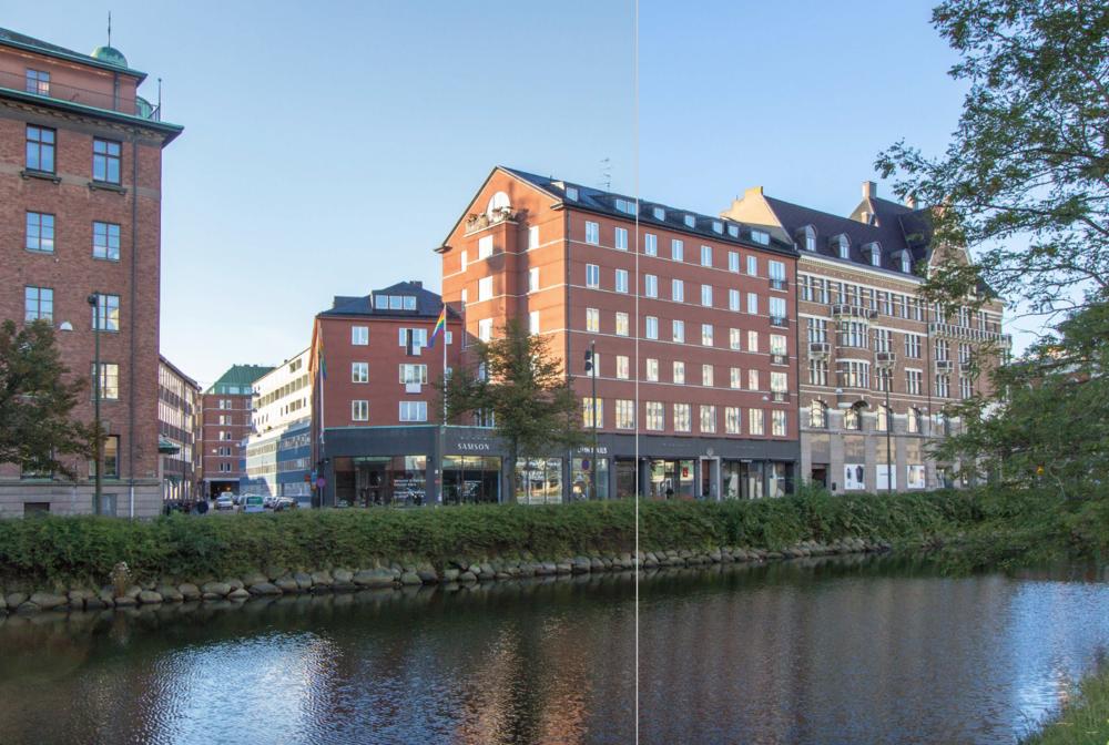 Drottninggatan 36/Västraa kanalgatan 1