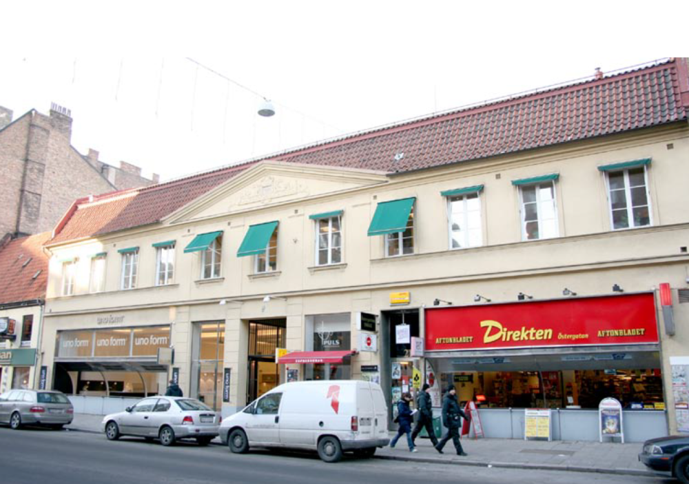 Östergatan 23/Norra Vallgatan 13