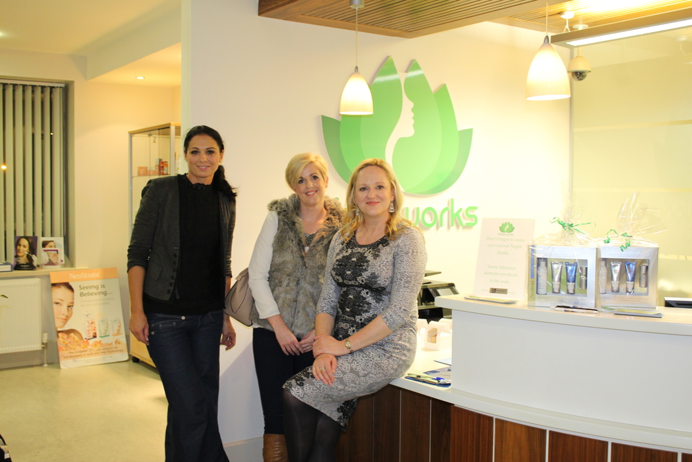 Sara Ashmore Kehoe's visit to the Faceworks Launch Night.
