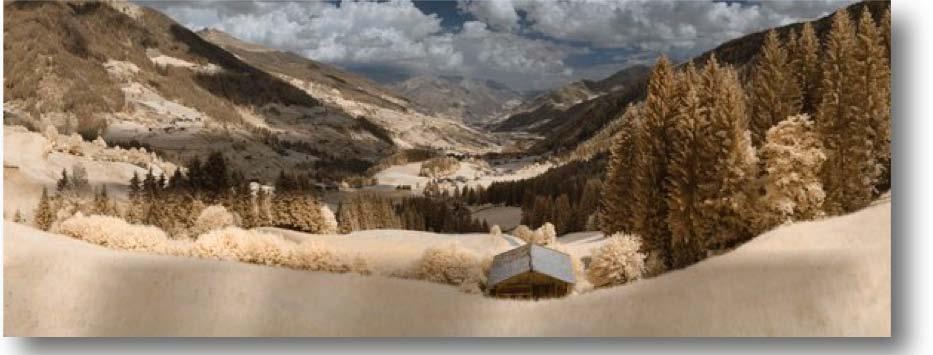 "Ridnaunthal #1, Italian Alps - 39352 x 14728 pixels    46  o  53' 59.52"" N 11  o  19' 10.35"" E"