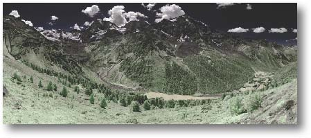 "Orso #6, Italian Alps - 39658 x 16276 pixels 46o31'22.40"" N 10o36'26.86"" E"