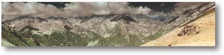 "Alta Via, Italian Alps - 33174 x 6967pixels    46  o  55' 51.06"" N 11  o  18' 21.65"" E"