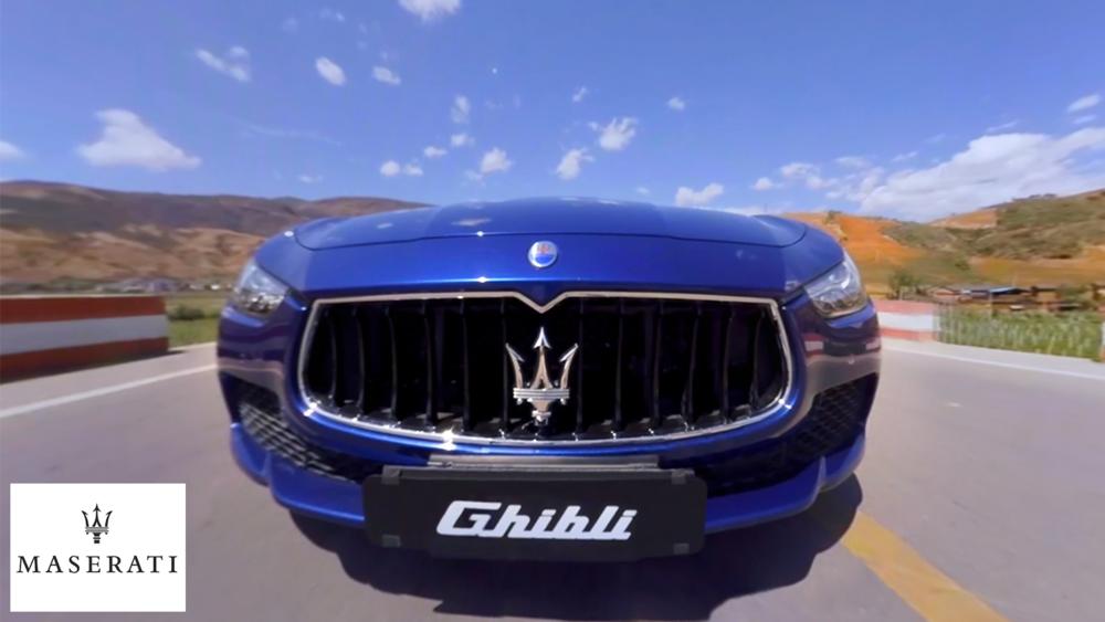 Maserati VR film