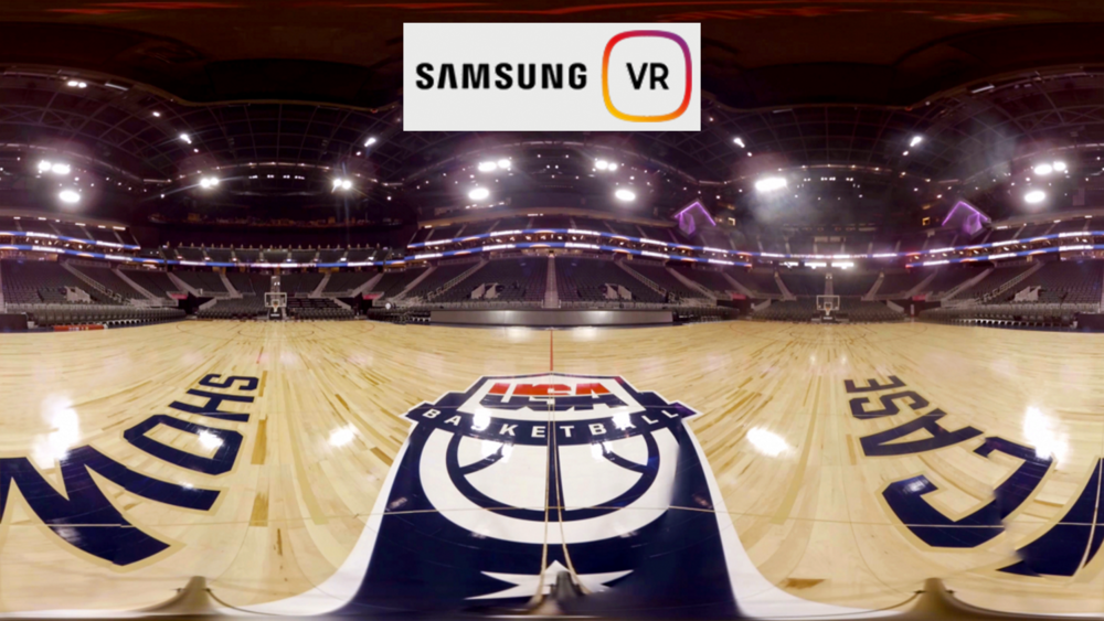 Team USA Basketball VR series