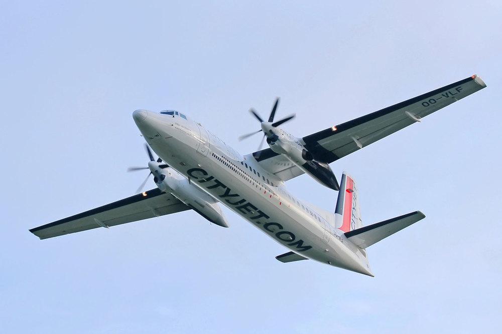 CityJet Fokker 50