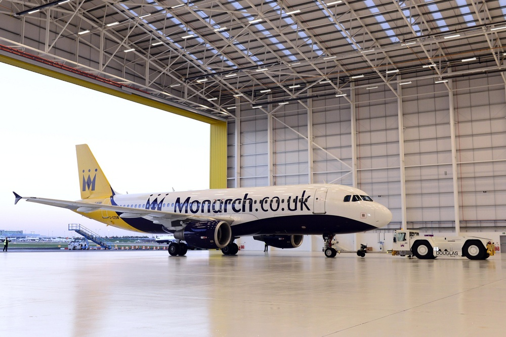 On the way out: Monarch's A320s