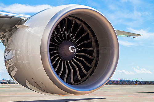 The mighty GE90-115B, the most powerful engine ever made