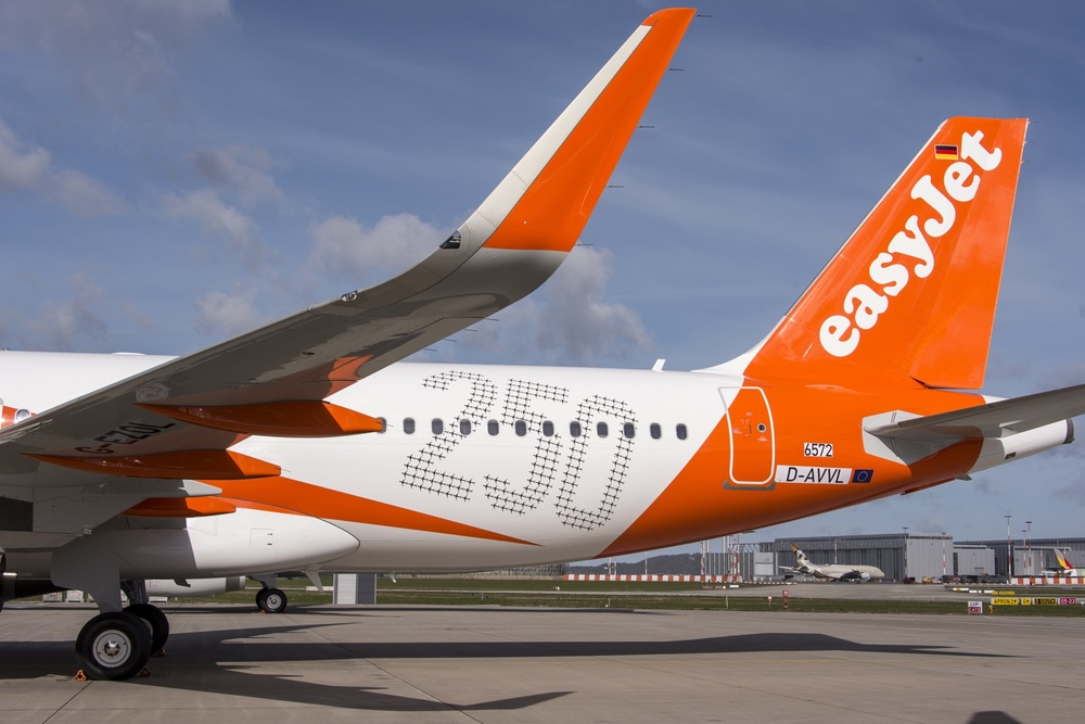 easyJet takes delivery of its 250th Airbus aircraft � Virtual Aviation