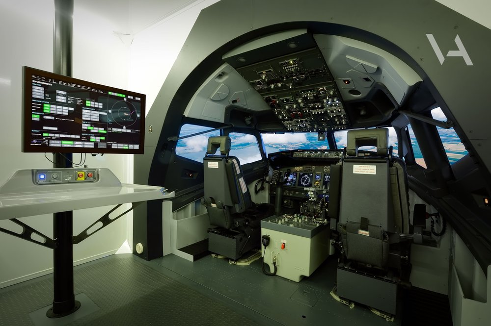 MPS flight simulator