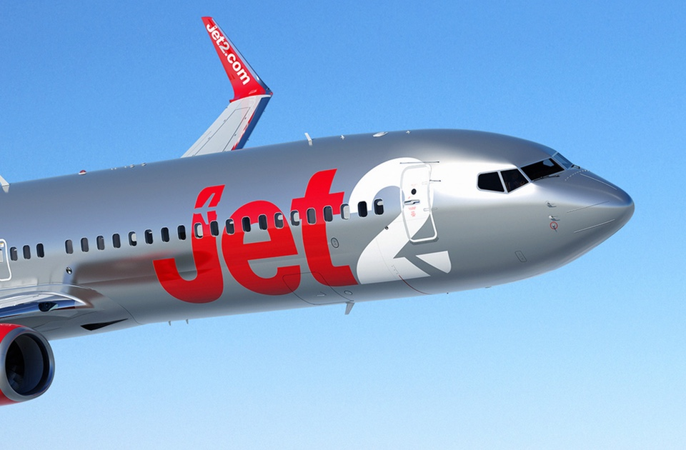 Jet2.com operates a fleet of Boeing 737-300,Boeing 737-800 (pictured) and Boeing 757 aircraft.