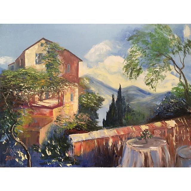 """Картина в шале """"Портофино"""" хм, 80х60"""