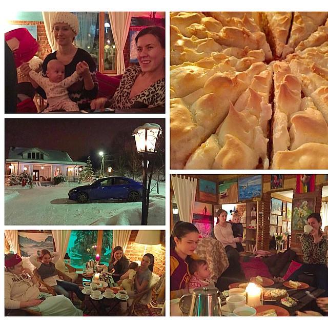 Очень приятно вечером собраться хорошей женской компанией на чай со сладостями. Вчерашней виновницей торжества стала Варвара, которая долгое время была хозяйкой виллы Маки и приехала к нам в гости)