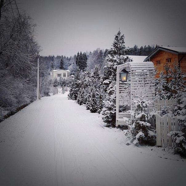 У нас белый-белый снег!!