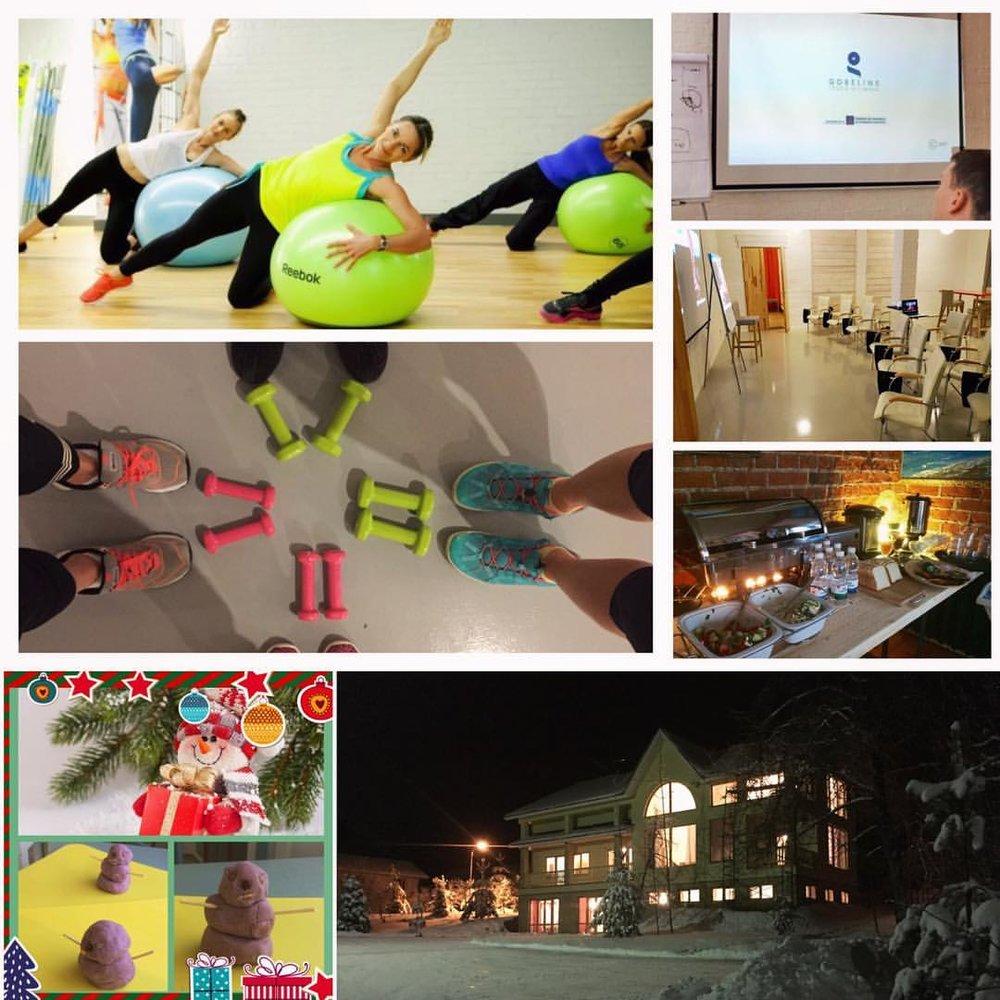Спорт, зарядка, фитнесс, шведские столы, кофе-брейки